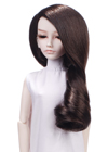 This glamorous one length long large curls style .It worn over one shoulder for sexy and stunning finish. It is great for student look ,reading under the tree.
